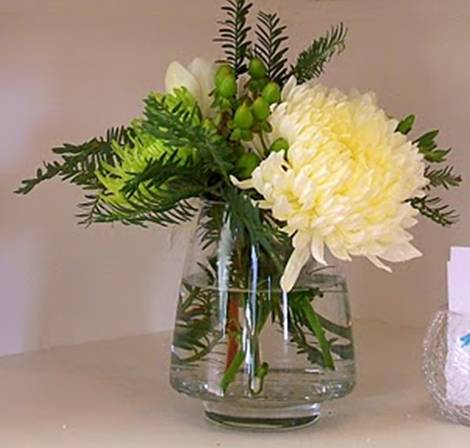 Flower Delivery Atlanta on Fuji Mum Centerpiece