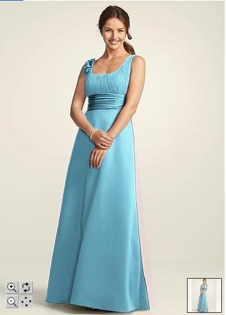 Bridesmaid Dresses Pool Color 26