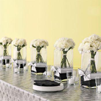 Вазы своими руками для свадебных столов 88