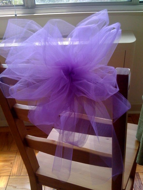 P Tulle Pew BowFuschia wedding tulle pew bows diy Pew Bow 2 years ago