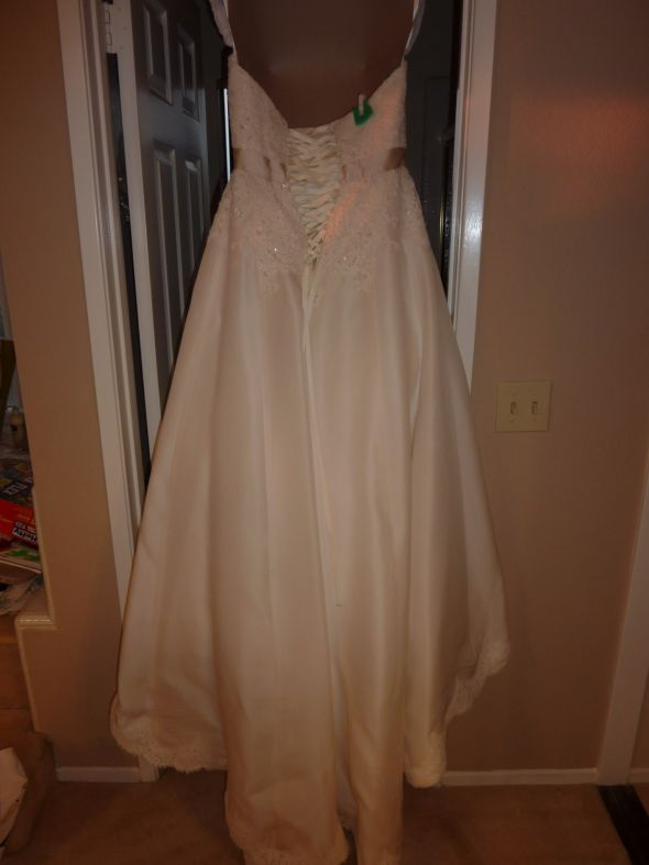 Used Amsale wedding gown for sale