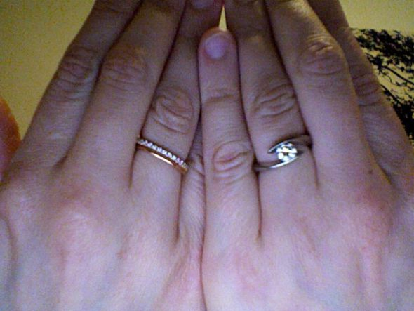 Stacked ring sets