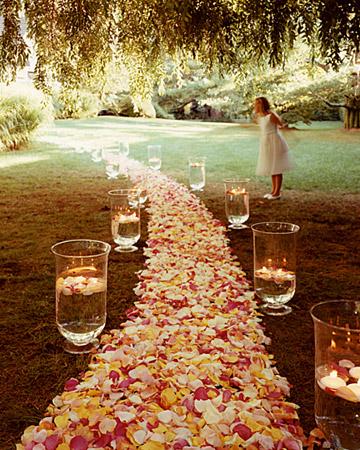 Non flower Wedding Alter And Aisle Dilemma Weddingbee