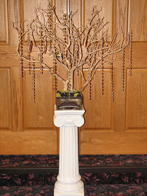 Manzanita Tree Wedding Centerpiece Rentals wedding manzanita centerpieces