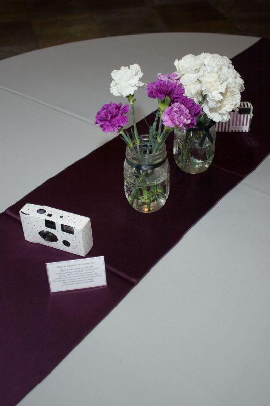our Reception purple and grey wedding purple grey reception IMG 4448