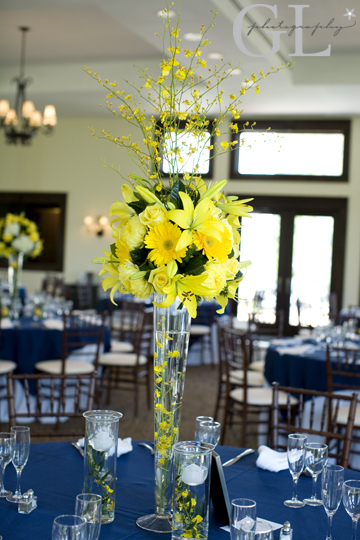 Yellow Flowers Wedding Centerpieces Flowers Healthy