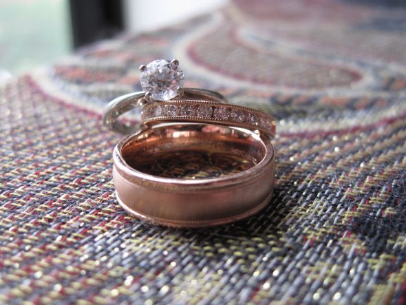 Rose Gold Engagement Rings wedding rose gold Rings 1 year ago