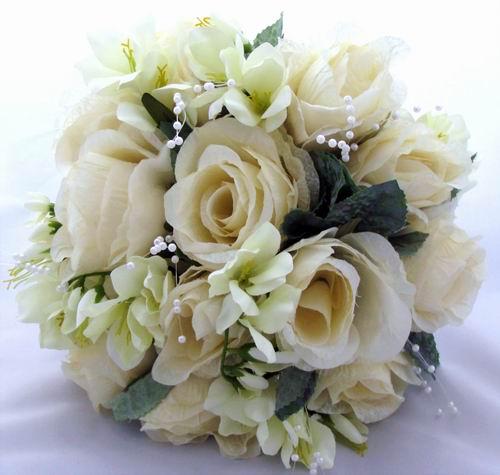 Winter bouquets wedding SilkBridalBouquetsIvory1 1 year ago