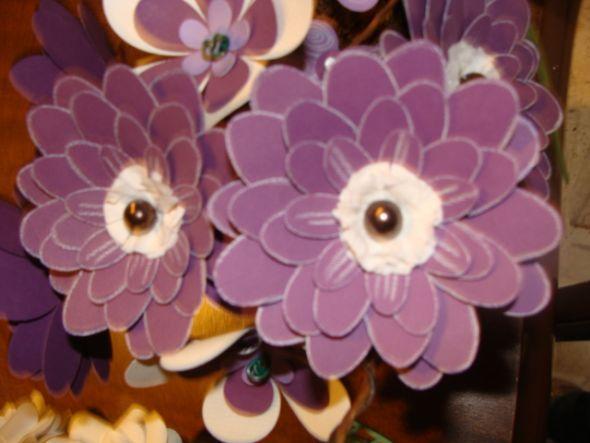 paper gerbera daisy :  wedding paper flower Pgerb