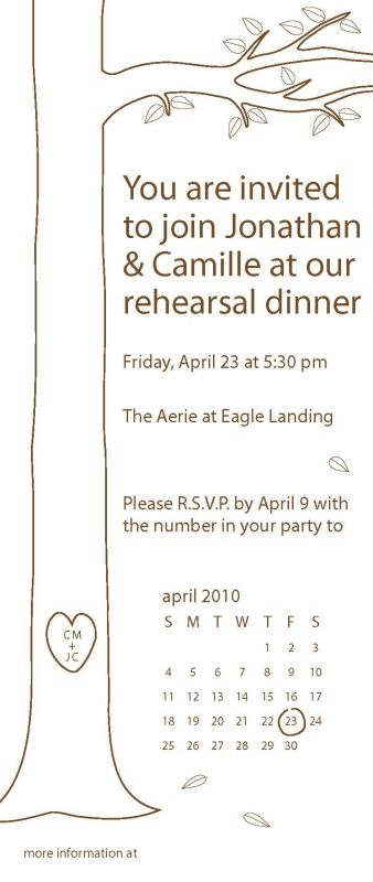 Rehearsal Dinner Invitation Wording wedding rehearsal dinner invitation