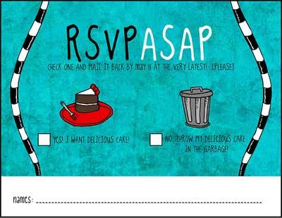 Funny Wedding Rsvp Cards MEMEs