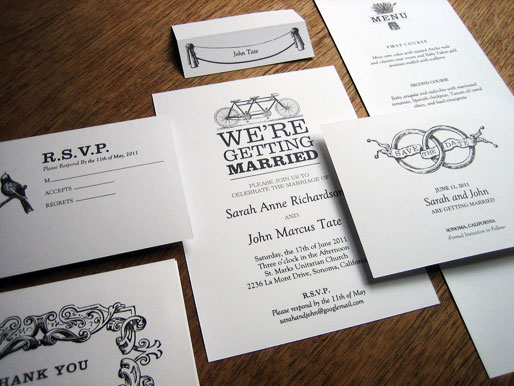 wedding Free Printable Blackandwhite Wedding Invitation