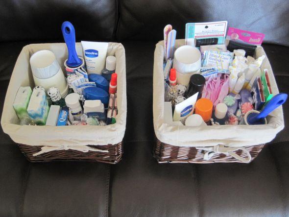 Pics of my Bathroom Baskets