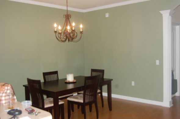 just painted an accent wall s in our apartment take a look see