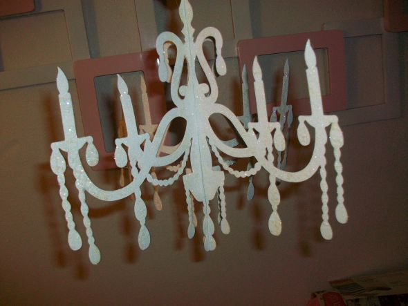 My first diy projects here is my paper chandelier it is still in the works i will add swarovski crystals aloadofball Choice Image
