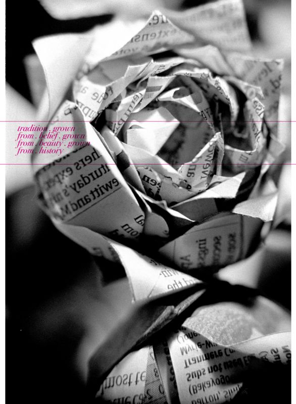 Would this be okay or tacky?? :  wedding cheap flowers bouquet newspaper bridal bridesmaid vintage weddin cute decoration Newspaper Flowers