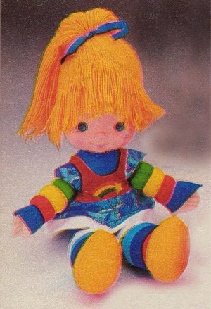 Favorite Childhood Toys... :  wedding toys Rainbow Brite Doll