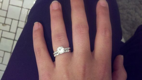 displaying 19 gallery images for wedding ring set on finger