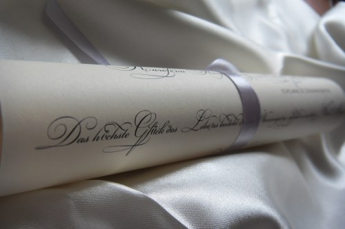 Miss International 39s Programs wedding wedding program rolled ribbon Wed