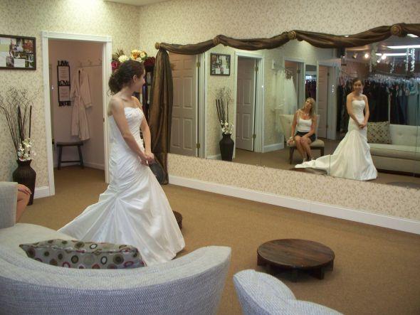 Looking for honest feedback is dress too fancy for venue wedding dress