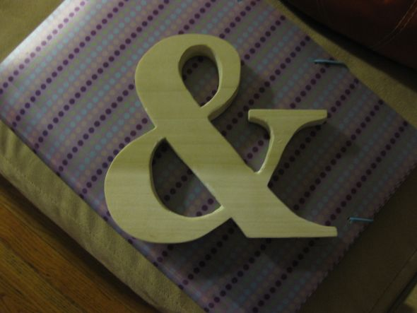 Alternative to bride and groom chair signs wedding reception signage