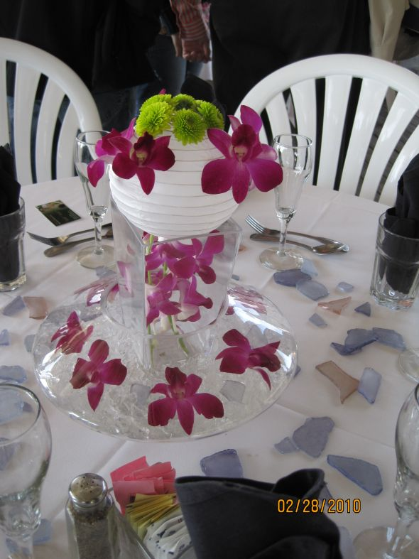 Audhild s wedding centerpiece ideas then send the