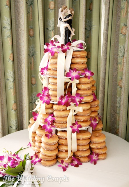 Donut Cake :  wedding Merrill08