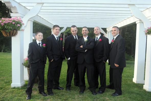 Handsome groom and groomsmen wedding groom groomsmen Groomsmen