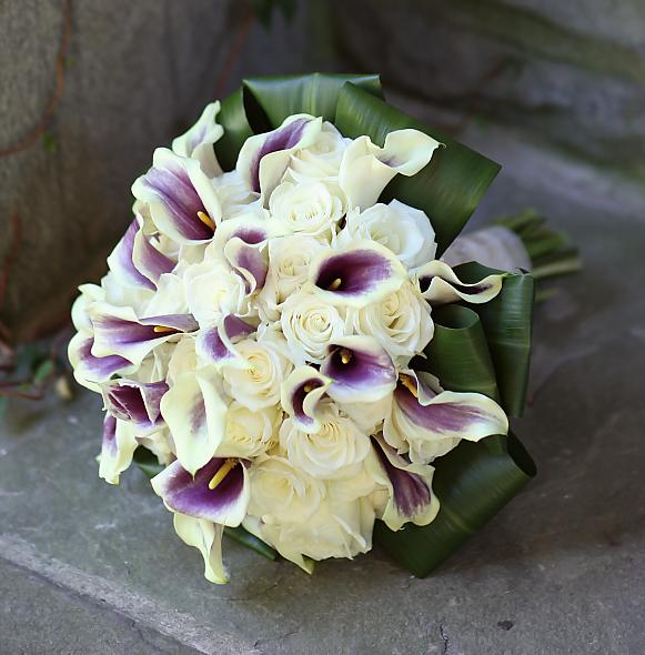 Anyone else 39s colors green and purple wedding green purple Bridal Bouquet