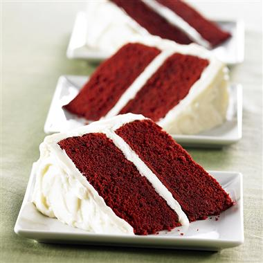 Whats the deal with Red Velvet Cake? :  wedding Red Velvet Cake With Vanilla Cream Cheese Frosting