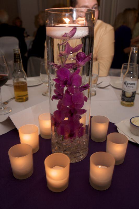 My Purple Centerpieces!! Your Opinion Bee's! PICS - Weddingbee
