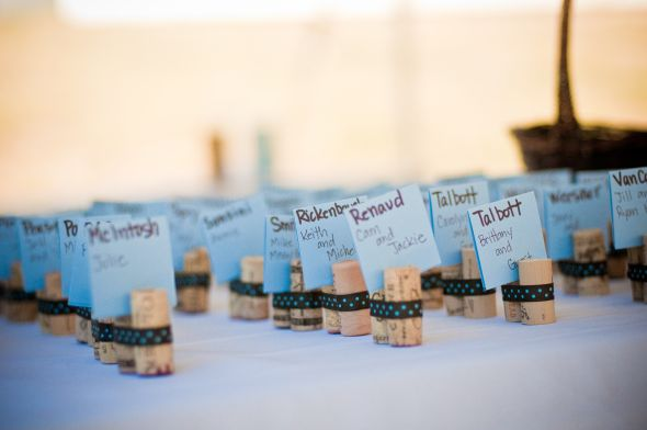 light blue dark brown wedding decor for salewine themed wedding blue