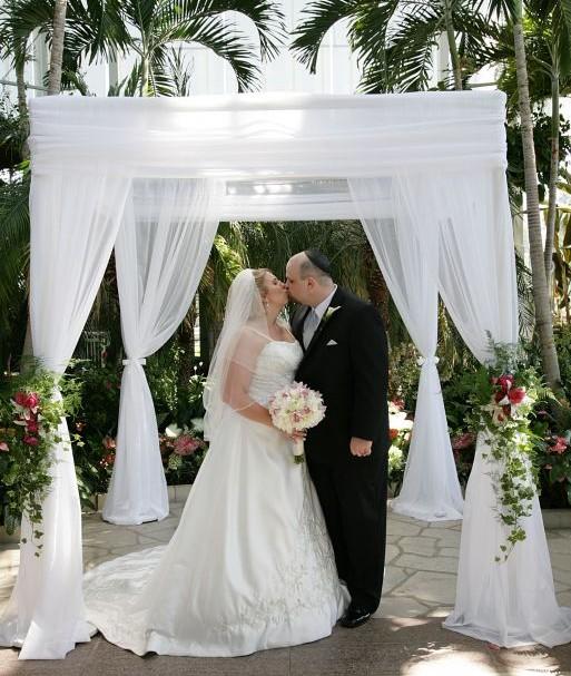 Christian Wedding Reception Ideas: Can A Christian Bride Have A Chuppah?