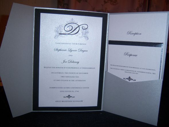 pictures of Wedding Invitations Pocket