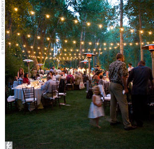 How To Hang String Lights For Outdoor Wedding : Hanging up string lights?? - Weddingbee