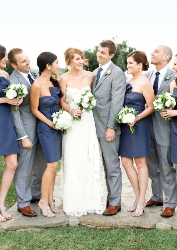 Yellow And Gray Wedding Bridesmaid Dresses 115