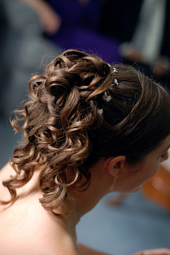 prom hairstyles updo curls
