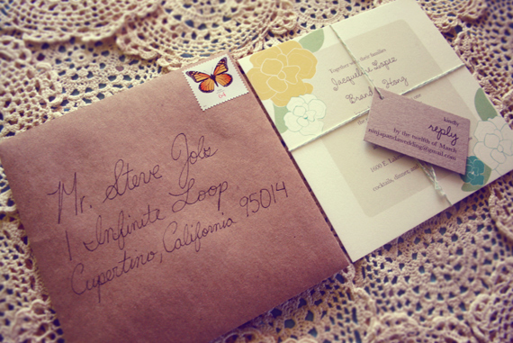 Our Eco-Friendly Wedding Invitations