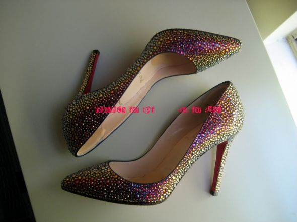 Glitter ShoesFun or just tacky wedding shoes purple peep toe