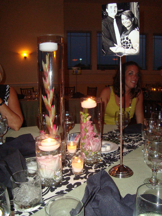 Keelee s i have these damask centerpieces for sale