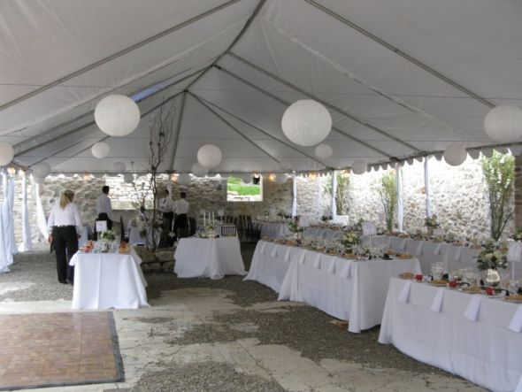 Jalissa's blog: Dramatically draped tent for a wedding ...