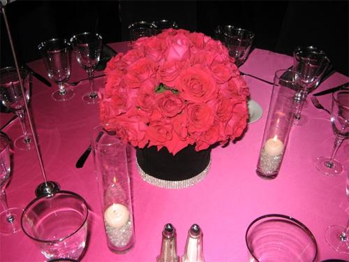 Hot pink Black Damask weddingHELP wedding Lg 216133 11