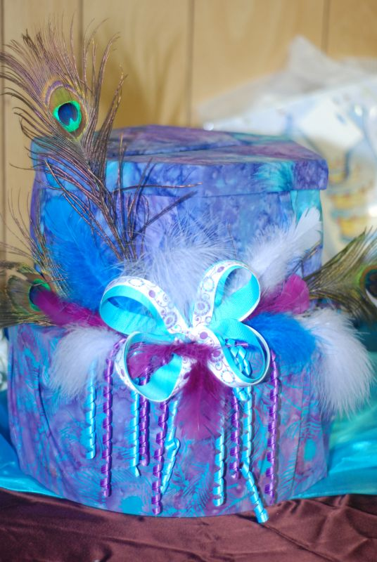 Purple Turquoise Aqua Items for Sale wedding turquoise purple card box
