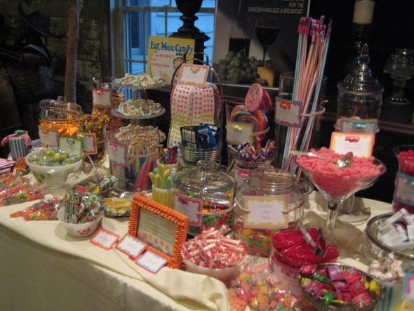 My Fabulous Candy Bar wedding candy bar labels table dessert buffet