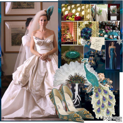 Wedding on Claire Danes Style   Meet The Peacock    Wedding Wedding Theme