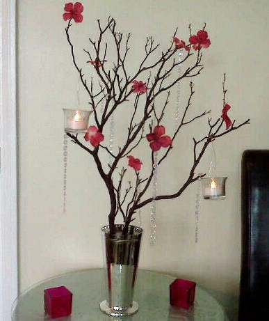 Parvin's blog: I love this modern and simple centerpiece ...