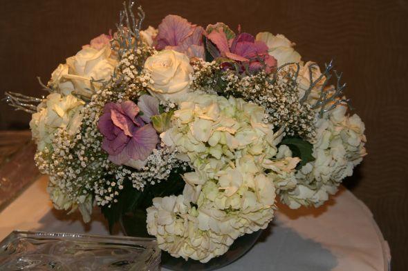 Hydrangea Wedding Centerpieces. wedding Centerpiece Short