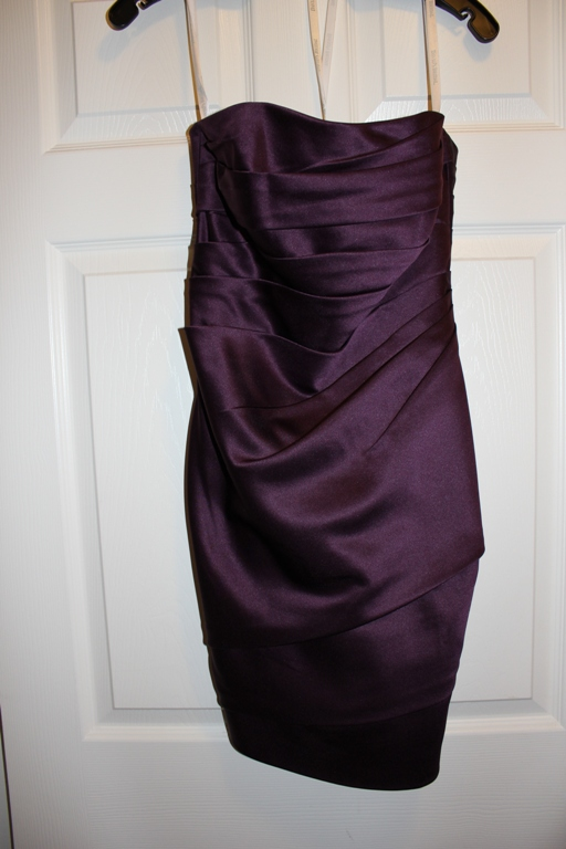 DB bridesmaids dress F14212 in Lapis wedding purple bridesmaids IMG 0215