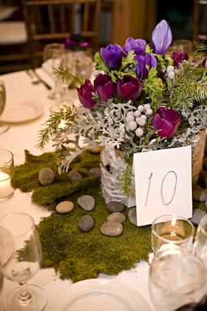 wedding centerpieces decor so many ideas to use moss Who knew