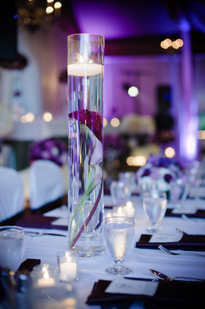 Purple Wedding Centerpieces Decor